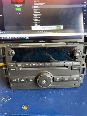 07 08 09 10 11 GMC YUKON Chevy Silverado Sierra AM/FM Radio CD Player pt# 15868809 OEM for Sale in South Gate, CA