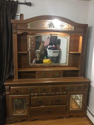 Dresser with mirror for Sale in Charlottesville, VA