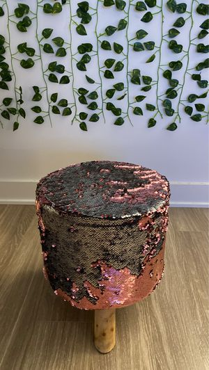 Decorative stool - really good ( 2 colors) for Sale in San Francisco, CA