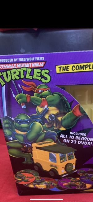 Ninja Turtles Cartoon set . 23 dvds Brand new. 1980s cartoons for Sale in Los Angeles, CA
