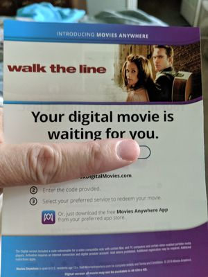 Walk the Line digital code only! NO PHYSICAL COPY. for Sale in San Antonio, TX