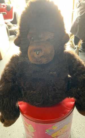R. Daemon stuffed ape/gorilla for Sale in Harker Heights, TX
