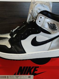 DS 2021 Jordan 1 Silver Toes Sz 8.5M / 10W for Sale in Bothell,  WA