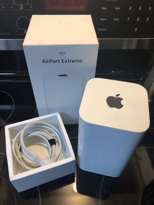 Apple AirPort Extreme Base Station 1300Mbps 3 Ports Wireless AC Router for Sale in Greenville, SC
