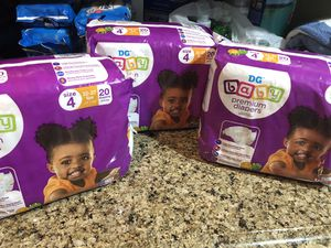 Dollar General Diapers Sz. 4 for Sale in Fort Washington, MD