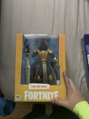 Fortnite ice king figure for Sale in Lawrence, MA