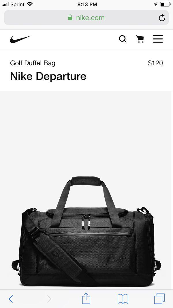 Nike Golf Duffle Bag