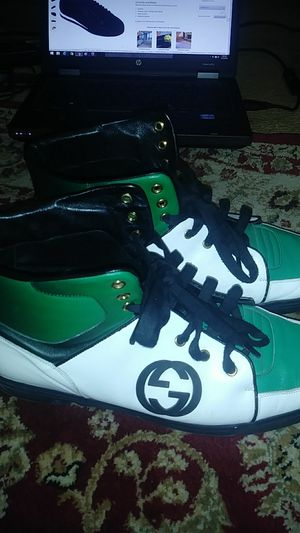 Authentic Gucci sneakers sz 13 for Sale in Silver Spring, MD