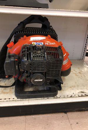 Echo leaf blower pb-500t for Sale in Austin, TX