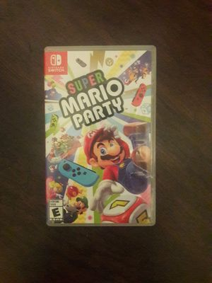 Mario party Nintendo Switch for Sale in Fontana, CA