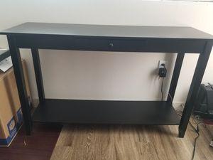 Yaheetech 2 Tiers Wood Console Sofa Table 48x14.96x30 for Sale in Phoenix, AZ