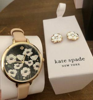 Kate Spade Watch with Earrings for Sale in Dearborn, MI