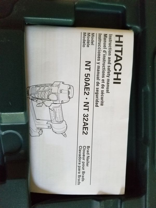 "NEW Hitachi air brad nailer 2"" 18 gage"