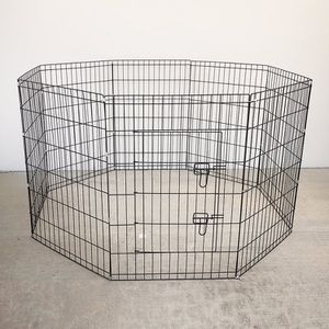 """New in box $40 Foldable 36"""" Tall x 24"""" Wide x 8-Panel Pet Playpen Dog Crate Metal Fence Exercise Cage for Sale in Pico Rivera, CA"""