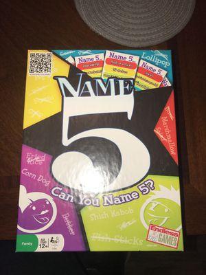 Name 5 board game for Sale in Murfreesboro, TN