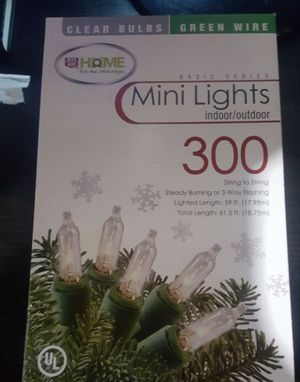 Christmas Mini Lights - 300 Count for Sale in Inglewood, CA