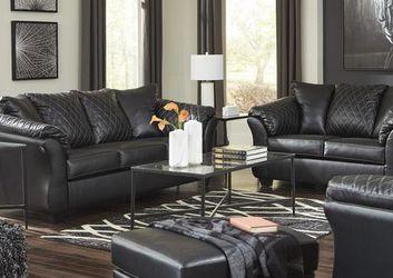 🌜EXCLUSIVE] Betrillo Black Living Room Set for Sale in Beltsville,  MD