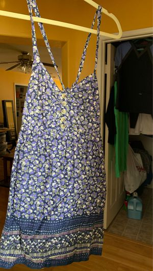 Blue/purple mini dress size Large for Sale in Chula Vista, CA
