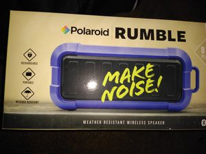 POLOROID RUMBLE BLUETOOTH SPEAKER for Sale in Carmichael, CA