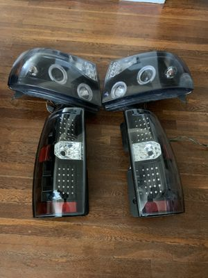 Tahoe headlights and tail lights for Sale in Bakersfield, CA