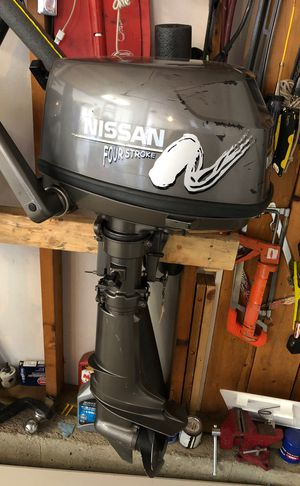 Nissa boat motor 6hp for Sale in Centennial, CO