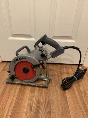 "Skilsaw 7 1/4"" worm drive saw. Great working condition. Works like a champ. Made in the ""U.S.A"". Brand new power cord. $75 firm on price for Sale in Bellevue, WA"