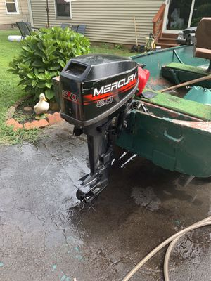 6 hp 1995 Mercury boat motor for Sale in East Haven, CT