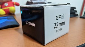 EF-M 22 mm F/2 STM Canon lens for Sale in San Antonio, TX