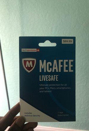 Mcafee Livesafe Software for Sale in Tamarac, FL