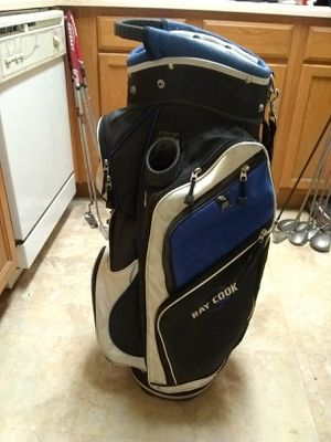 Golf Bag! Golf Clubs! 14 Slot Cart Bag! for Sale in Phoenix, AZ