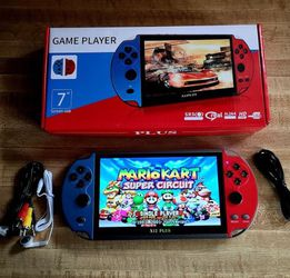 """Handheld Video Game Player 7.1"""" 16GB Game Console Built-in 3000 Classic Games (Generic Brand) for Sale in Kent,  WA"""