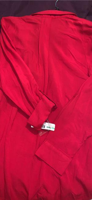 Women's Red Fleece Button Down Shirt for Sale in Nashville, TN