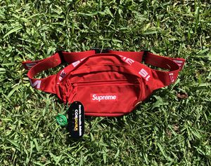 Supreme Waist Bag Red (SS18) for Sale in Miami, FL
