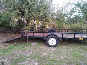 Traila abierta 6x12 buenas condiciones1300 for Sale in Vero Beach, FL