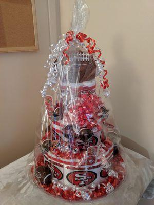 San Francisco 49ers Diaper Cake for Sale in Santa Maria, CA
