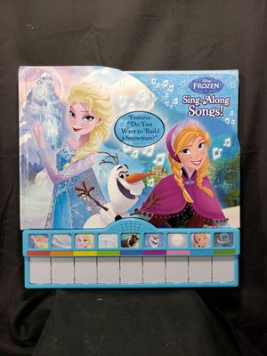 Disney Frozen - Sing-Along Songs! Board Book with Built-In Keyboard Piano for Sale in Zanesville, OH