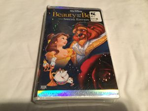 Beauty and the beast rare vhs for Sale in Scottsville, VA