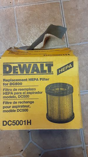 Dewalt vacume filter for Sale in Avella, PA