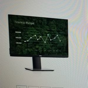 """Dell 24"""" Monitor With Wireless Keyboard And Mouse for Sale in Greenwich, CT"""