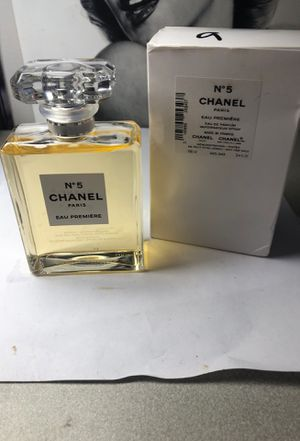 Authentic! Chanel No 5 Eau Premiere Perfume 3.4oz Eau de Parfum Spray for Sale in West Islip, NY