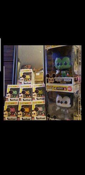Mickey mouse funko pop set for Sale in Pico Rivera, CA