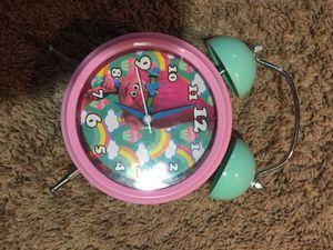 Troll piggy bank coin holder alarm clock kids children fun loving for Sale in Roseville, MN