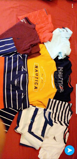 Young boys T-shirts size 8-10 12-14 Nautica & Jordans in decent shap No rip's asking $'3 dollars a peace for Sale in Denver, CO
