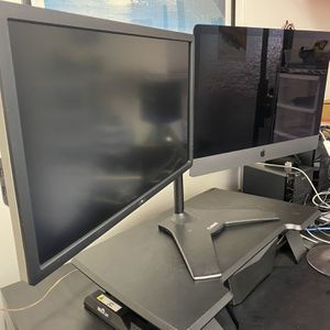 Planar Double Monitor Stand for Sale in Encinitas, CA