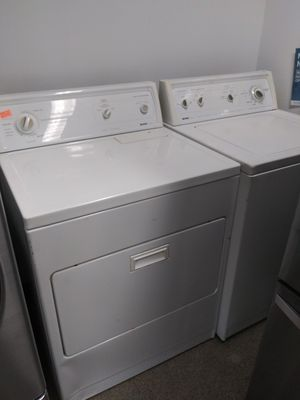 Set GAS dryer in washer 4 month warranty for Sale in Elkridge, MD