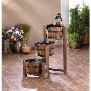 Apple Barrel Cascading Fountain for Sale in Saltsburg, PA