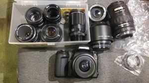 Pentax camera bundle for Sale in San Francisco, CA