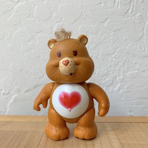 Vintage Care Bears Tender Heart Bear Collectable Pose Able Toy for Sale in Elizabethtown, PA