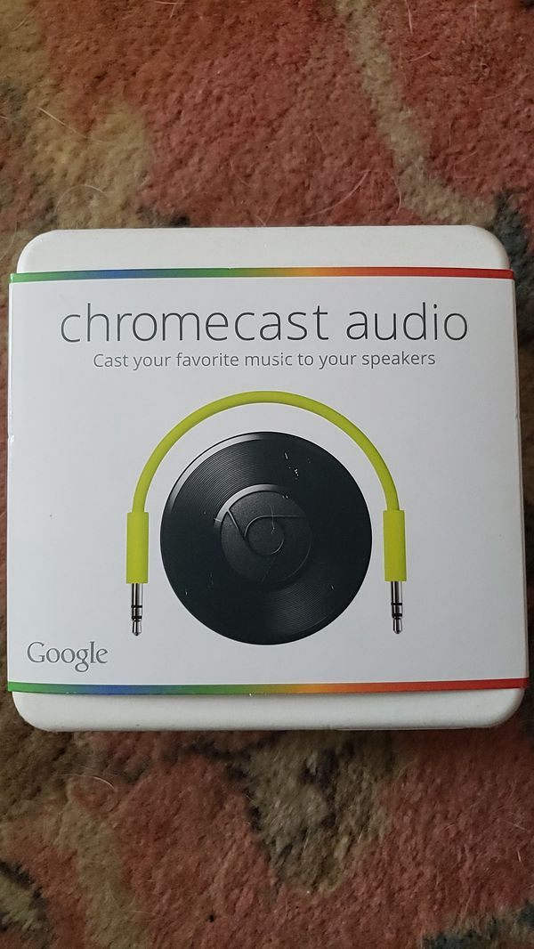 Chromecast Audio Gen1
