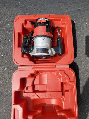 Craftsman Router, NEW never used for Sale in East Gull Lake, MN